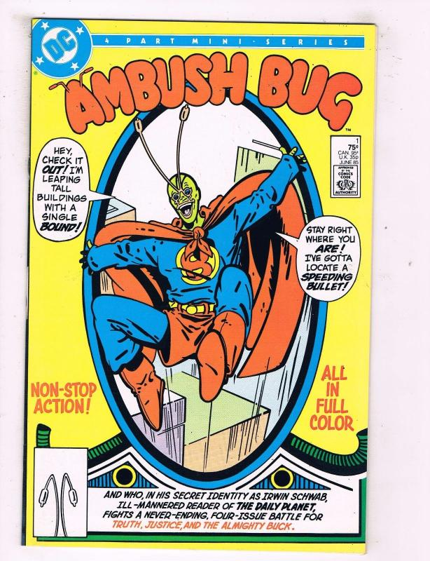 Ambush Bug Complete DC Comics Limited Series # 1 2 3 4 AD25