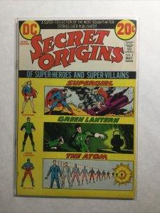 Secret Origins 2 Very Fine- Vf- 7.5 Dc Comics