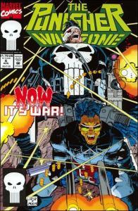 Marvel THE PUNISHER: WAR ZONE (1992 Series) #6 VF/NM