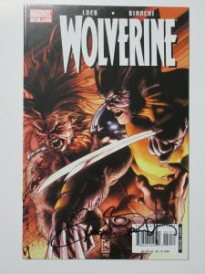 Wolverine (Marvel v3 2007) #51 VS Sabretooth! Signed by Simone Bianchi