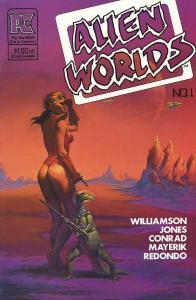 ALIEN WORLDS 1 Williamson, Conrad+++ x 3 EC Lives!!! -