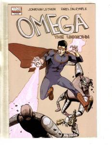 Omega The Unknown Complete Marvel Comics LTD Series # 1 2 3 4 5 6 7 8 9 10 CJ9