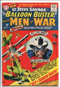 ALL-AMERICAN MEN OF WAR #113-1965-DC-2ND BALLOON BUSTER-LT SAVAGEKUBERT-fn/vf