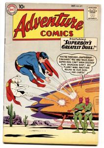 ADVENTURE COMICS #277 comic book 1960-SUPERBOY-CONGO BILL-AQUAMAN-very fine