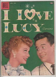 I Love Lucy #19 (Apr-58) FN/VF Mid-High-Grade Lucy Ricardo, Rickey Ricardo, F...