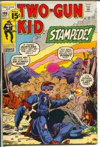 Two-Gun Kid  #100 1971-Marvel-Herb Trimpe cover-Jack Kirby art-VF