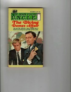 3 Books The Diving Dames Affair Believe It or Not! Inside Flying Saucers JK13