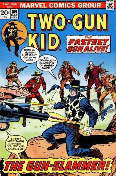 Two-Gun Kid #109, VG+ (Stock photo)