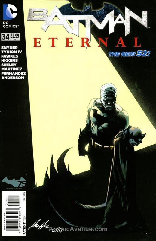Batman Eternal #34 FN; DC | save on shipping - details inside
