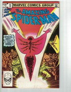 The Amazing Spider-Man Annual #16 VG 1st app of Captain Marvel (Monica Rambeau)