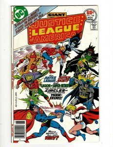 Lot Of 6 Justice League Of America DC Comic Books # 148 149 150 151 152 153 GK34