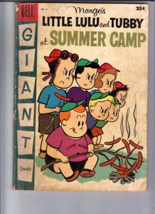 Marge's Little Lulu and Tubby At Summer Camp #5 (Oct-57) GD Affordable-Grade ...
