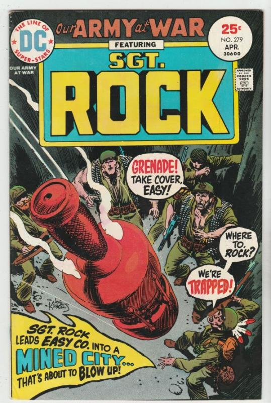 Our Army at War #279 (Apr-75) VF/NM High-Grade Easy Company, Sgt. Rock