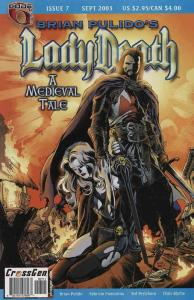 Lady Death: A Medieval Tale (Brian Pulido's…) #7 VF/NM; CrossGen | save on shipp