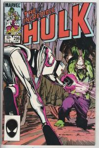 Incredible Hulk #296 (Apr-85) VF/NM High-Grade Hulk