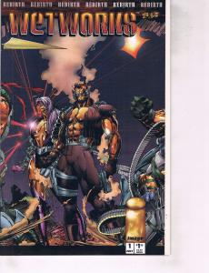 Lot Of 2 Image Comic Books Wetworks #1 and #2 ON6