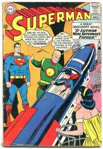 Superman #170 1964 comic book DC comics-- Lex Luthor- JFK Kennedy story vg-