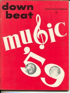 Down Beat's Music Yearbook 1961-Photos, info, trends, history-top music stars-FN