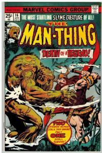 MAN THING (1974) 16 FN April 1975