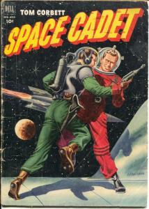 Tom Corbett Space Cadet-Four Color Comics #400 1952-Dell-McWilliams-TV Series-G