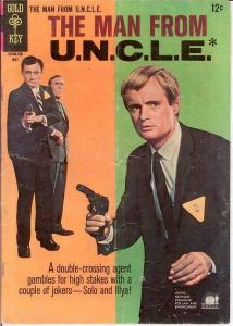 MAN FROM UNCLE (1965-1969 GOLD KEY) 12 GOOD PHOTOCOVER: COMICS BOOK