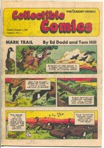 Collectible Comics #1 1978-Sunday Herald-1st issue-Tarzan-Russ Manning-Kane-FN