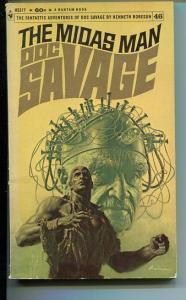 DOC SAVAGE-THE MIDAS MAN-#46-ROBESON-VG-JAMES BAMA COVER VG