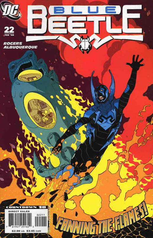 Blue Beetle, The (4th Series) #22 FN; DC | save on shipping - details inside