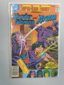 Super-Team Family #1 presents Wonder Woman and Atom 5.0 VG FN (1978)