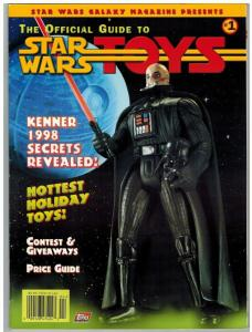 OFFICIAL GUIDE TO STAR WAR TOYS (1997 TOPPS) 1 FN