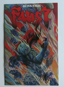 Faust #13 NM 9.4-9.6 High Grade Signed Autographed By Tim Vigil Low Print Run
