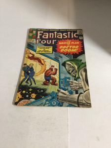 Fantastic Four 23 Vg/Fn Very Good/Fine 5.0 Tape On Spine Marvel Silver Age