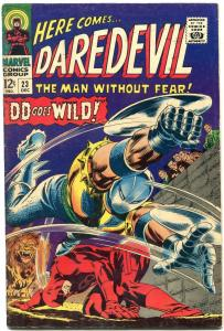DAREDEVIL #23 1966-MARVEL-GENE COLAN ART FN