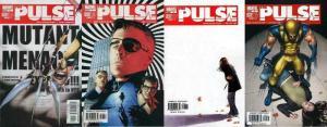 PULSE (2004) 6-9  Secret War complete 4-part story!