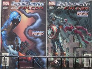 CAPTAIN AMERICA AND THE FALCON #13-14 (Marvel, 2004) 'American Psycho' complete