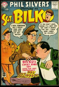 SERGEANT BILKO #10-PHIL SILVERS-CBS TV SERIES-1958-DC VF