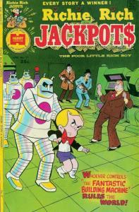 Richie Rich Jackpots #17 VG; Harvey   low grade comic - save on shipping - detai
