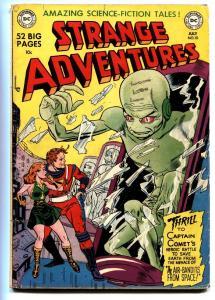 Strange Adventures #10 comic book 1951-DC-sci-fi thrills-Captain Comet VG