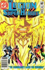 Legion of Super-Heroes, The (2nd Series) #288 (Newsstand) VG; DC | low grade com