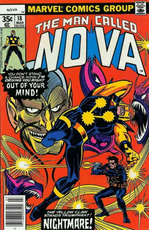 Nova (1st Series) #18 FN; Marvel | combined shipping available - details inside