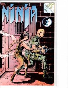 Ninja (1986) #2 Eternity Comics NM- (9.2)