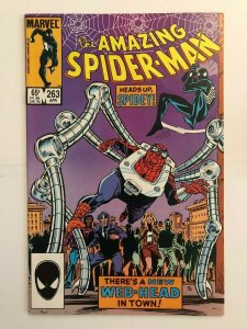 Amazing Spider-Man #263 - 1st Appearance of Normie Osborn - Goblin Child
