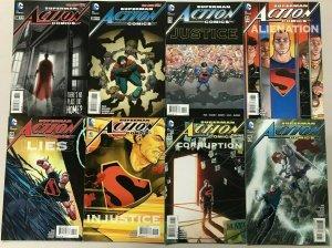 ACTION COMICS#38-49 LOT (8 BOOKS) 2016 DC COMICS THE NEW 52!