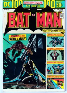 Batman(vol. 1)#255 The Original 100PGer