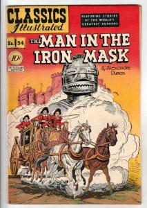 Classics Illustrated #54 (Dec-48) FN/VF+ Mid-High-Grade