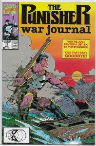 Punisher War Journal (vol. 1, 1988) #19 VF/NM Potts/Jim Lee