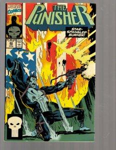 12 Marvel Comic Books The Punisher # 44 55 56 57 58 59 60 61 62 65 68 69 J418