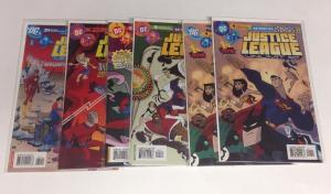 Justice League Unlimited 1-3 7 31 Near Mint 6 Book Lot Set Run