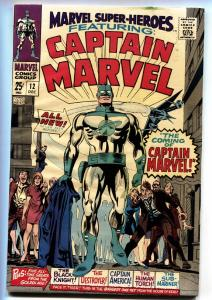 Marvel Super-Heroes #12 First appearance Captain Marvel comic book first issue
