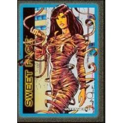 1993 Skybox Ultraverse: Series 1 SWEET FACE #37